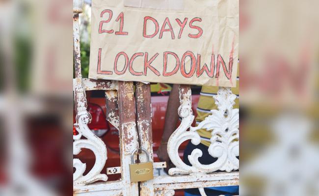 Man 21 Days Self Lockdown in Nirmal - Sakshi