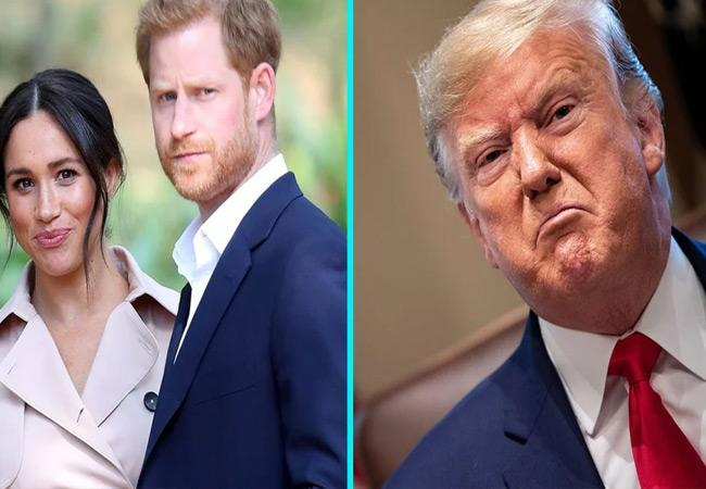 Trump Says US Will Not Shell Out Money for Prince Harry and Meghan Markle Security - Sakshi