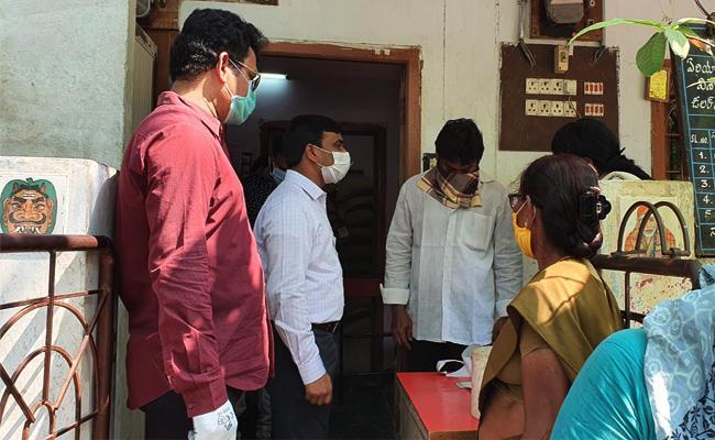 Visakhapatnam Ration Dealers Timings in Rice Distribution - Sakshi