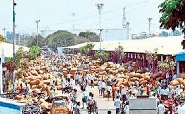 Reopening of the market yards from 31-03-2020 - Sakshi