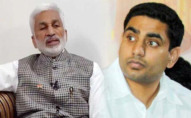 VijayaSai Reddy Slams Lokesh Babu - Sakshi