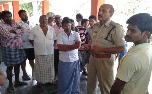 Head Master Misbehaving With Girl Students In Prakasam - Sakshi