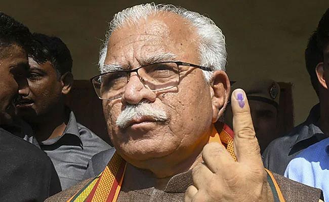 Haryana Government Has No Records On CM Citizenship - Sakshi