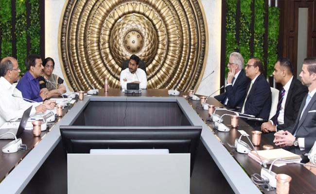 IMR Company Representative Meets YS Jagan Discuss New Steel Plant In YSR District - Sakshi