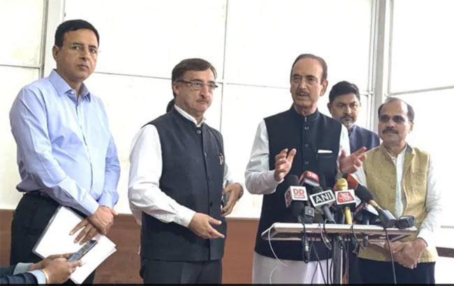 BJP Trying Destabilise Madhya Pradesh Government, Says Congress - Sakshi