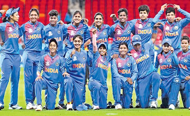India Womens Team Will Play Agianst Australia In Final In ICC T20 WC - Sakshi