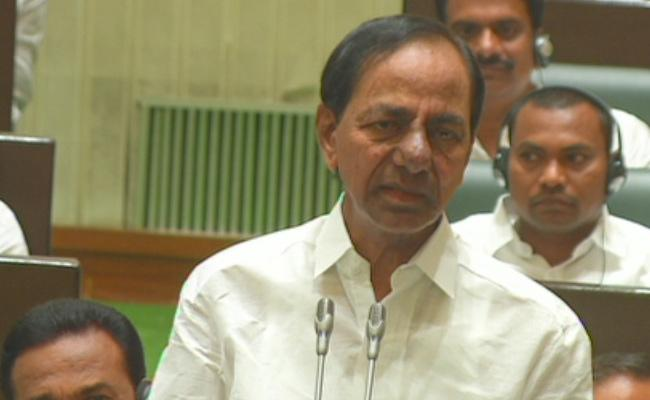 Telangana Budget Sessions CM KCR Speech On CAA - Sakshi