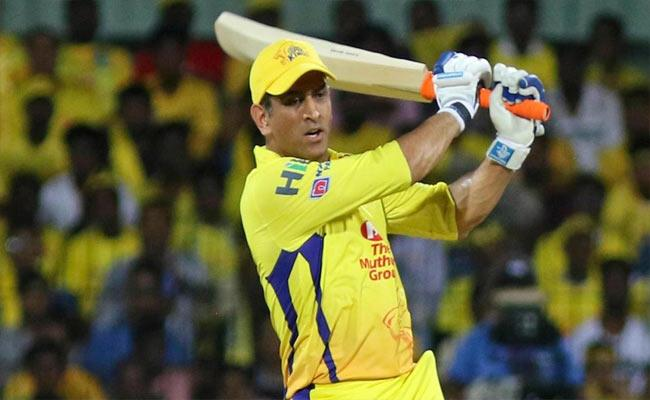 MS Dhoni Lights Up With Consecutive 5 Sixes A Head Of IPL2020 - Sakshi