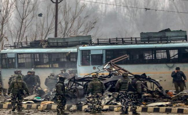 Report Teenager Bought Chemicals On Online To Prepare Bomb For Pulwama Attack - Sakshi