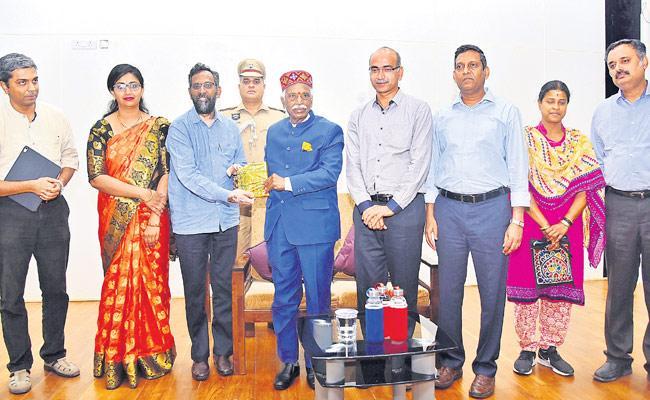 Bandaru Dattatreya Visited IITH At Sangareddy District - Sakshi
