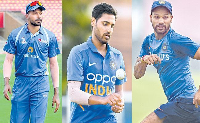 BCCI Announced India Squad For ODI Series Against SA - Sakshi