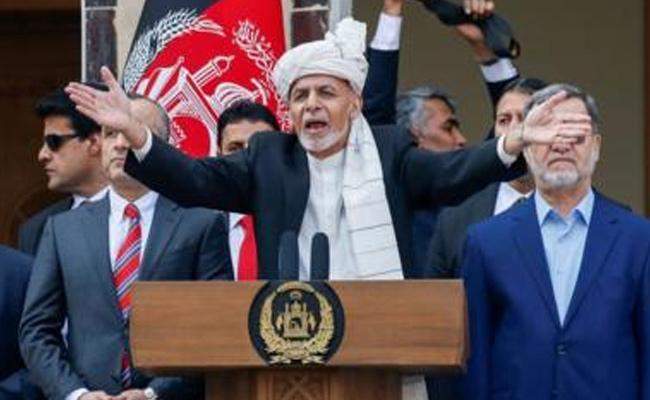 Bomb Blast At Ashraf Ghani Oath Taking Ceremony In Afghanistan - Sakshi