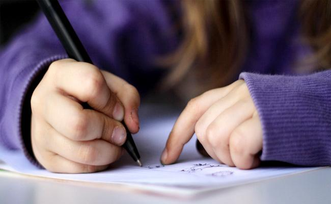 Hand Writing Training For Good Marks in Board Exams - Sakshi