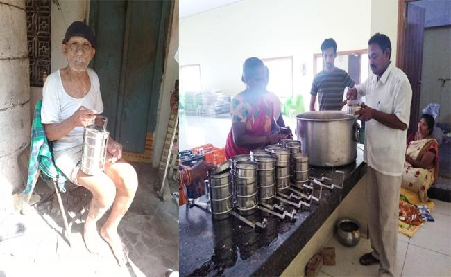 Tulsi Ram Distribute Rice For Orphans And Old Age Homes West Godavari - Sakshi