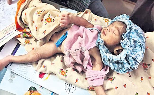 Mother Leaves Baby on Road in Vikarabad - Sakshi