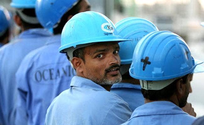 Helpline numbers for overseas Gulf workers - Sakshi