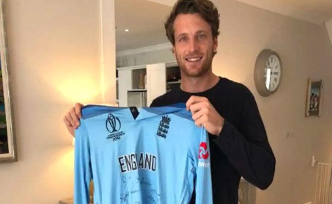Jos Butler Auctions His World Cup Shirt To Raise Funds For Hospitals - Sakshi