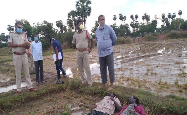 Two Men Loss in Thunder bolt Attack in SPSR Nellore - Sakshi