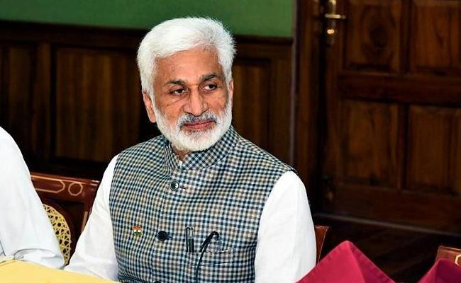 Vijaya Sai Reddy Critics Chandrababu Over Medtech Zone - Sakshi