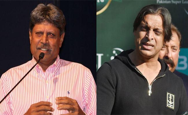 India vs Pakistan Series: Akhtar Reacts To Remarks From Kapil Dev - Sakshi