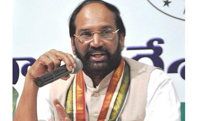 TPCC President Uttam Kumar Reddy Comments On CM KCR - Sakshi