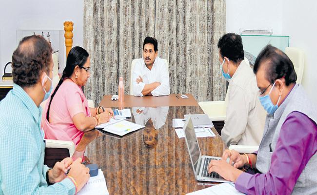YS Jaganmohan Reddy key decision to set up YSR Janata Bazaars - Sakshi
