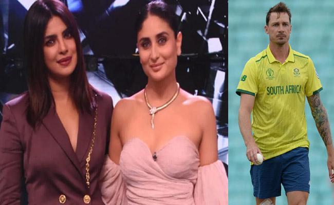 Shikhar Dhawan Says Kareena And Priyanka As His Favourite Actresses - Sakshi
