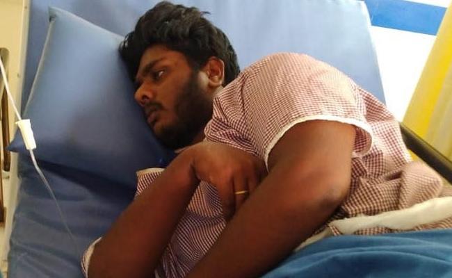 Sanitizer Drunked Case Another Person Loss in West Godavari - Sakshi