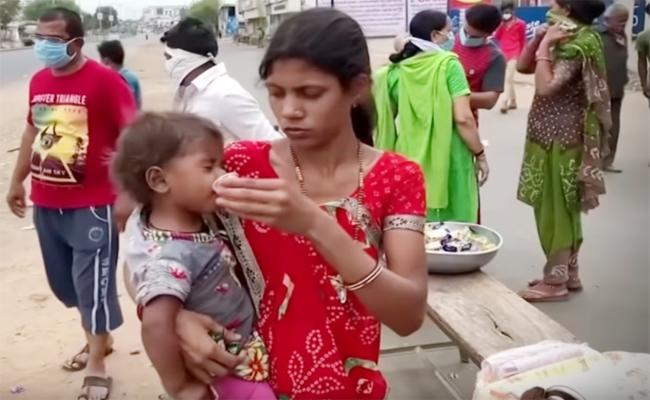 Poojan Sahil Song For Migrant Workers Hunger Deaths - Sakshi
