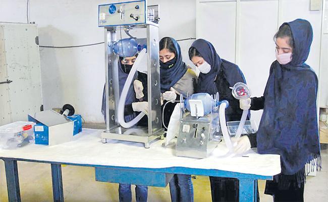 Afghanistan Country Student Somaya Faruki Make Ventilators In Sakshi Family