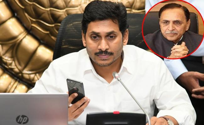AP CM YS Jagan Again Phone Call to Gujarat CM Vijay Rupani - Sakshi
