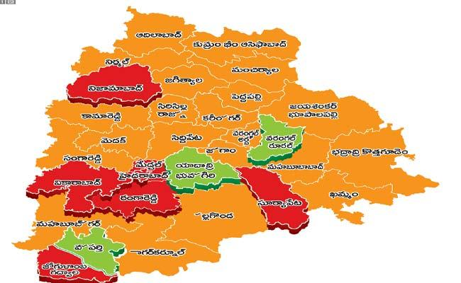 Corona Virus Is Most Prevalent In Some Districts Of Telangana - Sakshi