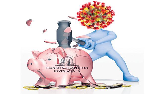 COVID-19 : Franklin Templeton India closes 6 debt schemes - Sakshi