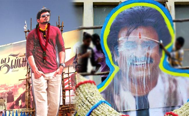 Fight Between Rajinikanth And Vijay Fans Leads To Person Assassinated - Sakshi