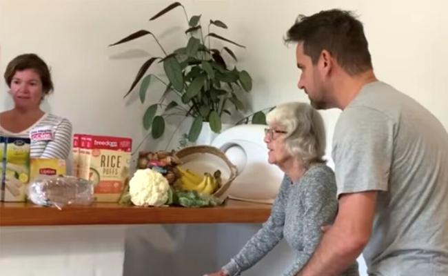 Viral: Australian Film Maker Recreates Supermarket At Home For His Mother - Sakshi