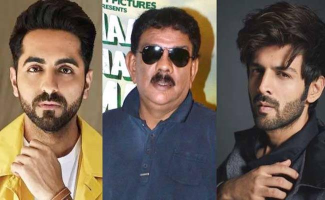 Director Priyadarshan Reveals Why Kartik Aaryan And Ayushmann Khurrana Rejected Hungama - Sakshi