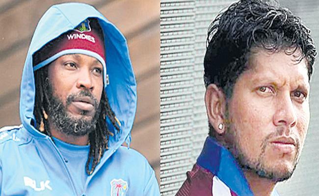 Chris Gayle Fires On Ramnaresh Sarwan - Sakshi