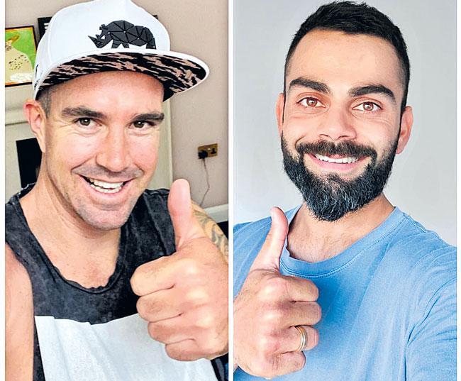 Kevin Pietersen interviews Virat Kohli on Instagram - Sakshi