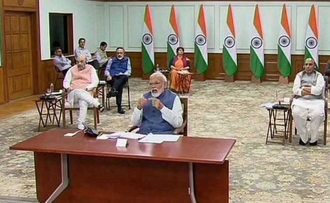 Editorial On Prime Minister Modi Video Conference - Sakshi