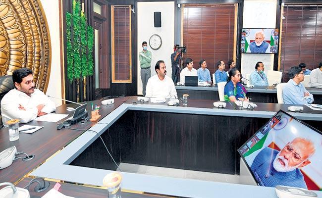 YS Jagan Mohan Reddy Speaks About Coronavirus In Andhra Pradesh - Sakshi
