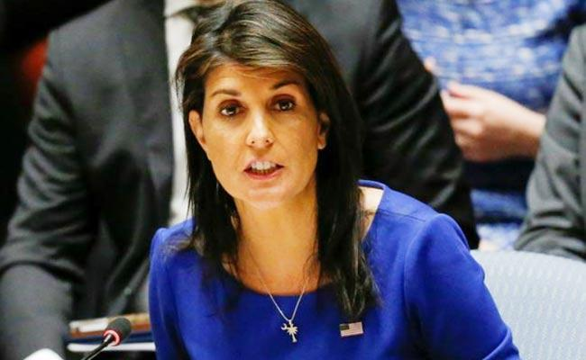 Nikki Haley Slams China Cares More About Its Reputation Over COVID 19 - Sakshi