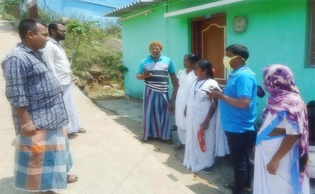 Officials Survey in Visakhapatnam Agency Area - Sakshi