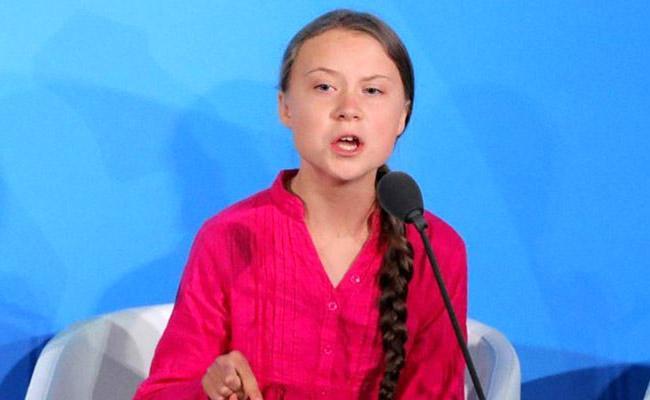 Climate Activist Greta Thunberg Donates $100,000  - Sakshi