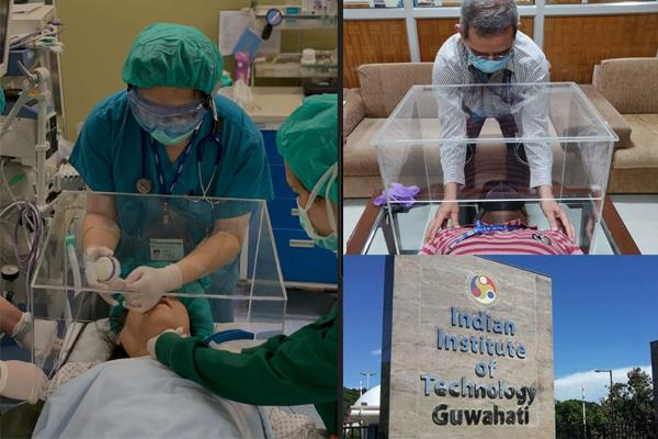IIT Guwahati students designed low cost intubation boxes - Sakshi