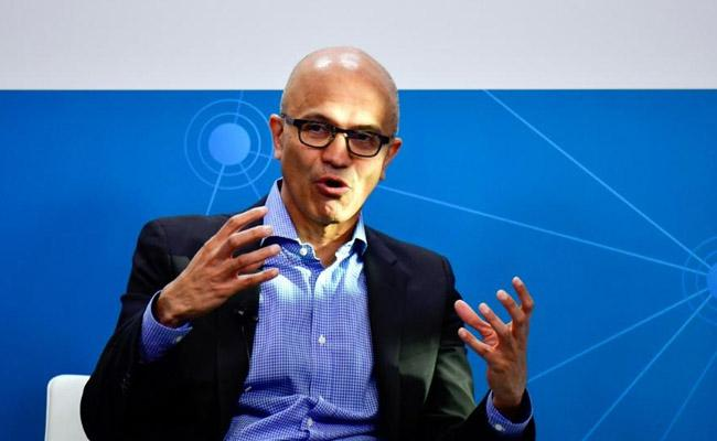 Microsoft revenue reaches usd 35 billion as cloud business grows faster than expected - Sakshi