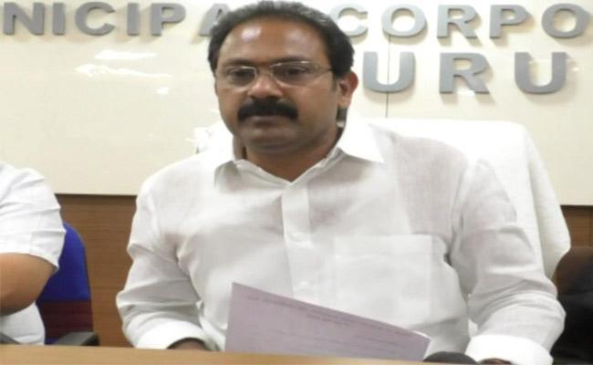 Alla Nani Review Meeting About Coronavirus In Eluru - Sakshi