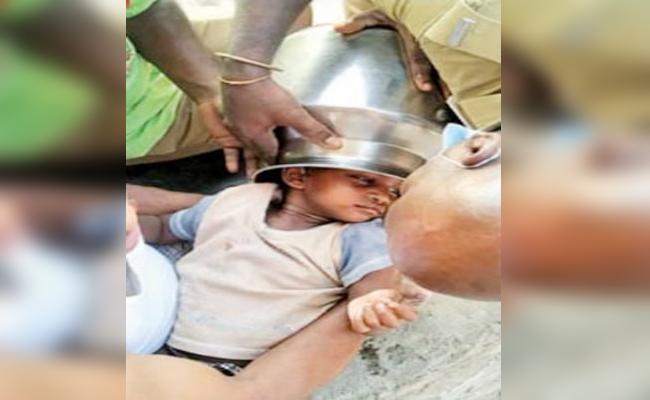 Baby Boy Head Struck in Silver Bowl Tamil nadu - Sakshi