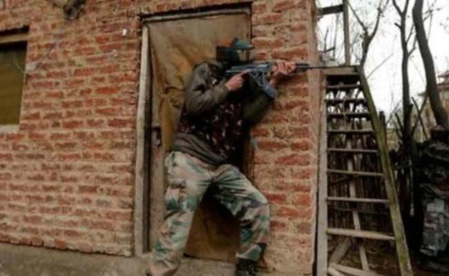 Three Militants Eliminate In Encounter In Jammu And Kashmir At Kulgam - Sakshi