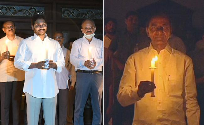 People Successfully Completed Diya Jalo In India Against Coronavirus - Sakshi
