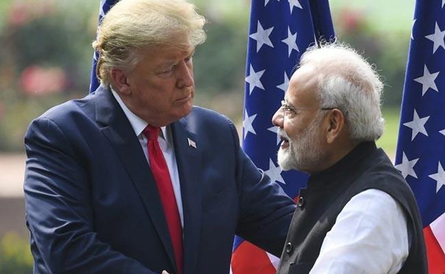Trump Urges PM Modi To Export Antimalarial Drug - Sakshi